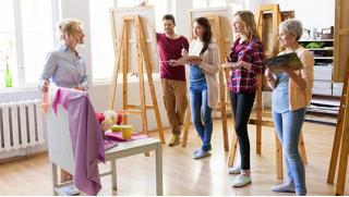 """Мастер-классы по правополушарному рисованию, рукоделию и декорированию, а еще рисованию в студии """"Этюд""""! Скидка 79%!"""