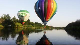 Летаем каждый день! Полеты на воздушном шаре для детей и взрослых в клубе Magic Flight! Скидка 55%!