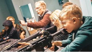 Научись меткости у нас! Стрельба из пневматического оружия, лука, автомата, винтовки или пистолета в стрелковом комплексе Shooter!
