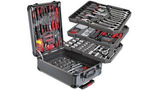 Купоны для экономии! Набор инструментов из 187 предметов KomfortMax от интернет-магазина Town-Sales! Скидка 74%!